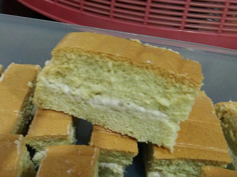 芋头馅海绵蛋糕