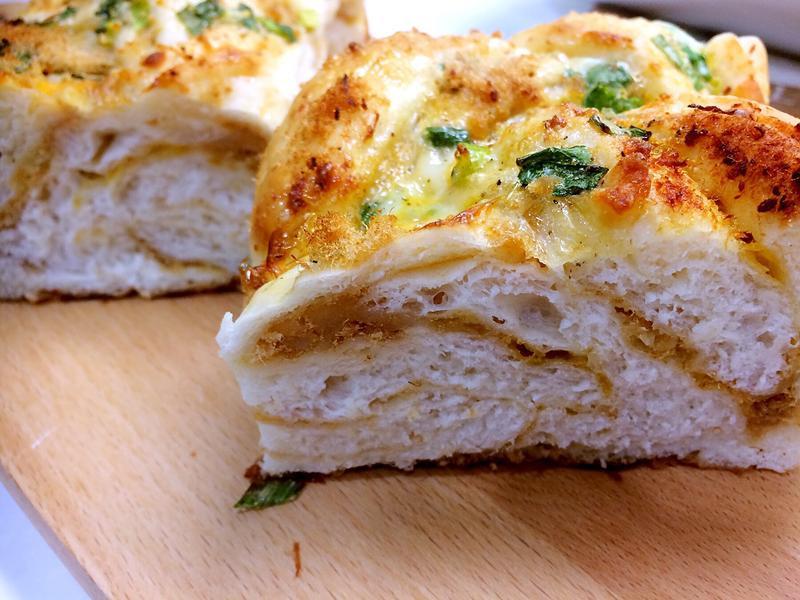 香蔥起士魚鬆麵包(低溫冷藏發酵法)