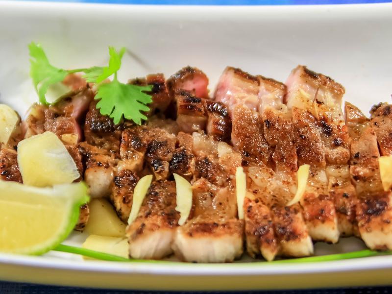歐爸祖傳嫩煎黑胡椒鹹豬肉