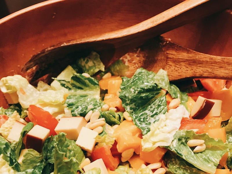 芒果生菜沙拉