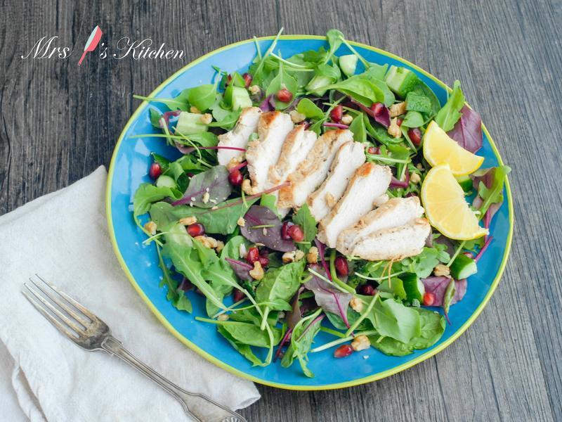 健康低卡雞肉沙拉