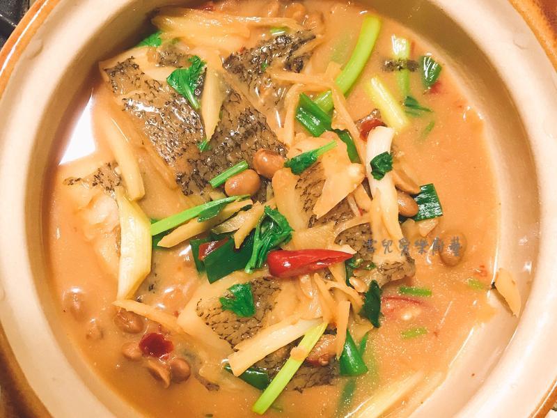 腐乳煨鰈魚