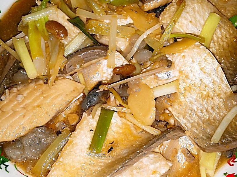 🍯🐟🍜腐乳燒虱目魚