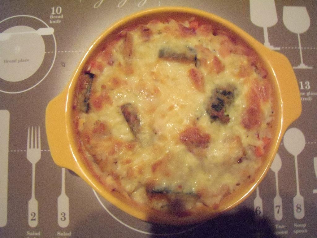 義大利香南瓜雞丁焗飯