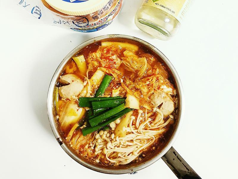泡菜豆腐鍋(低卡少油版)