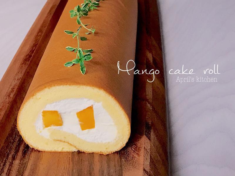 芒果可爾必思生乳蛋糕卷