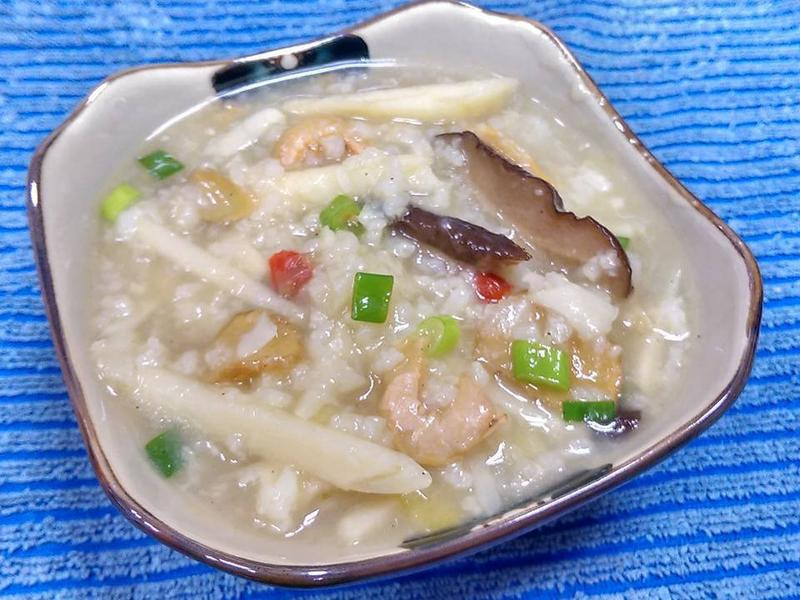 竹筍粥(電鍋版)
