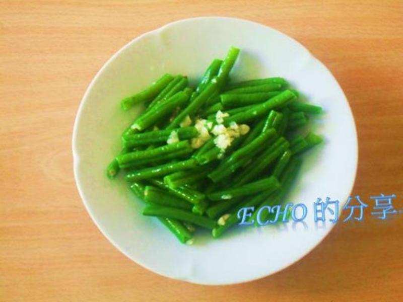 涼拌菜豆--呵呵~簡單好吃不易失手!!