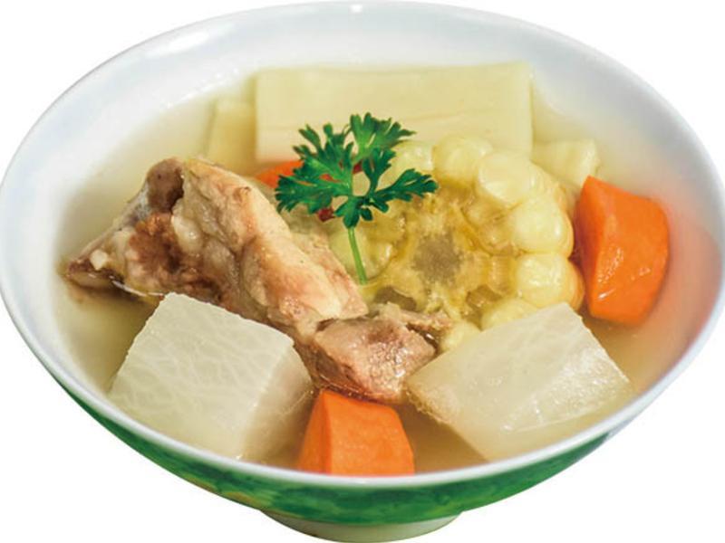 筍片排骨湯