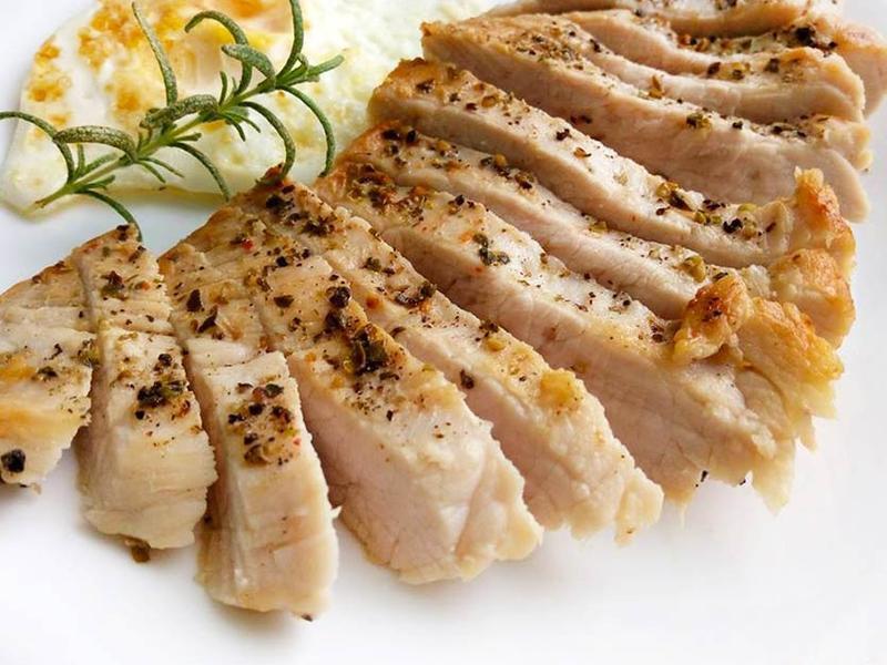 香料厚煎豬排〞鹽水醃漬法的軟嫩豬瘦肉排