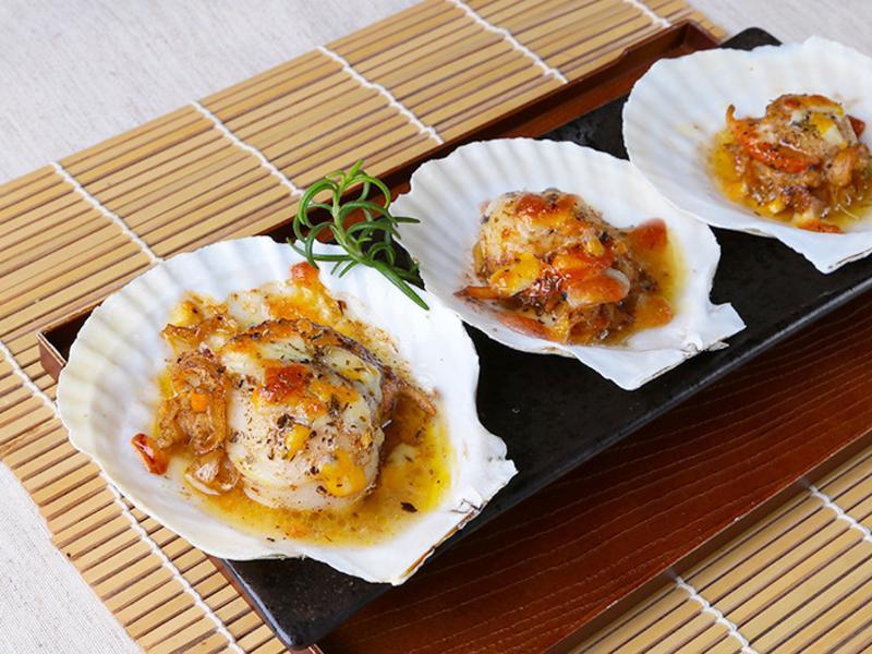 【五星主廚料理】香草奶油焗扇貝