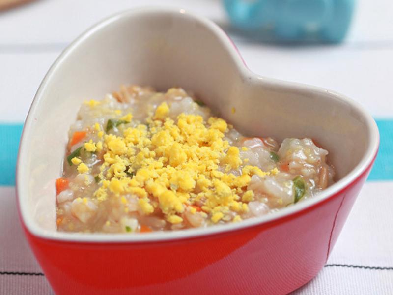 小米燕麥魚蛋粥