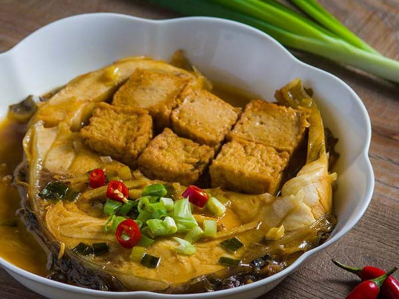 烏鰡燒豆腐