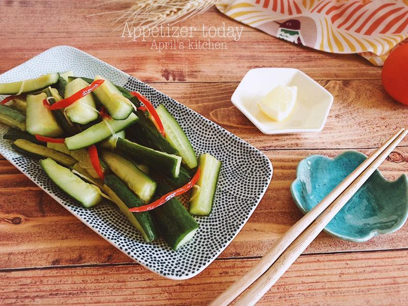 椒麻涼拌小黃瓜