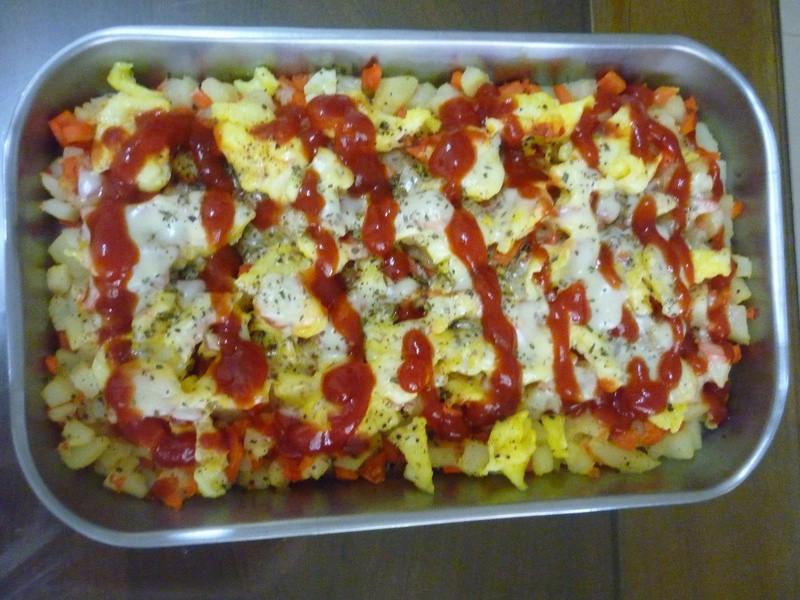 焗烤馬鈴薯蘿勒