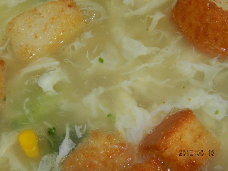 ㄚ曼達的廚房~漂亮蛋花怎麼做