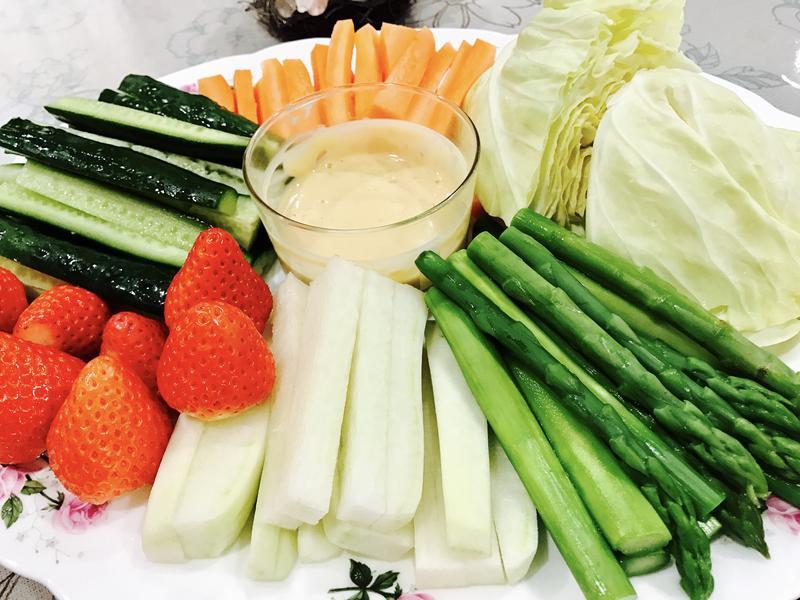 日式蔬菜棒沾醬