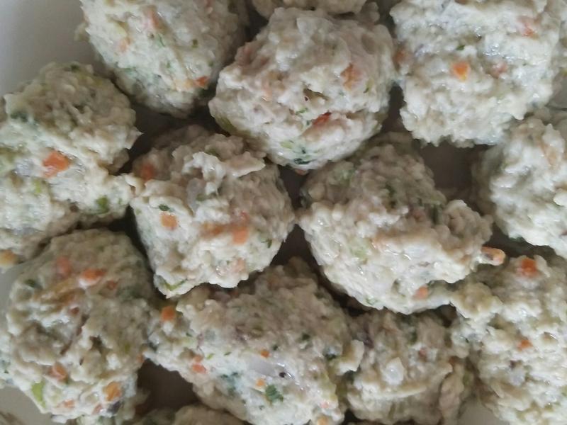 蔬菜雞肉丸子