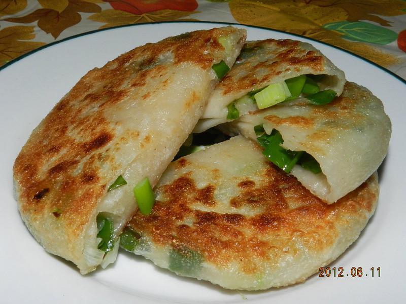 ㄚ曼達的廚房~厚蔥油餅