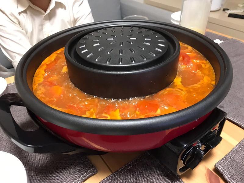 番茄火鍋湯底讚不絕口好簡單