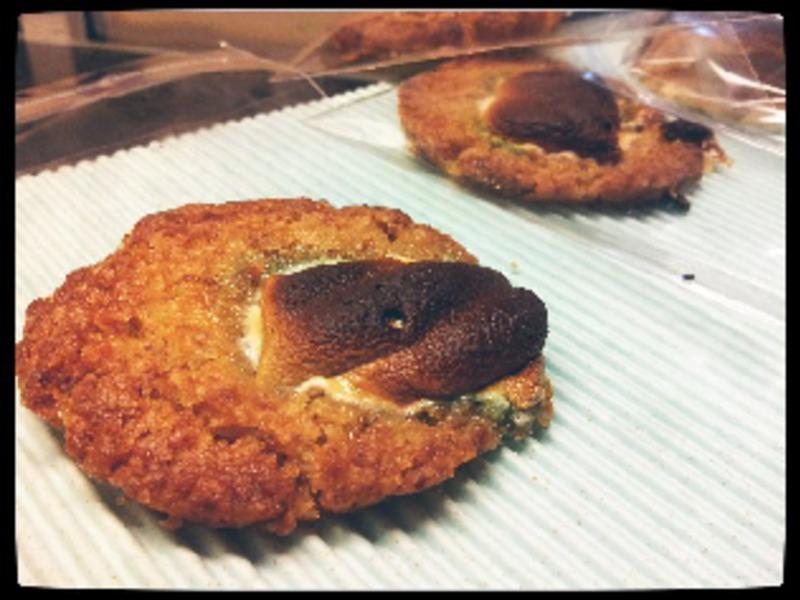 [食譜] 金黃棉花糖餅乾-不用奶油!