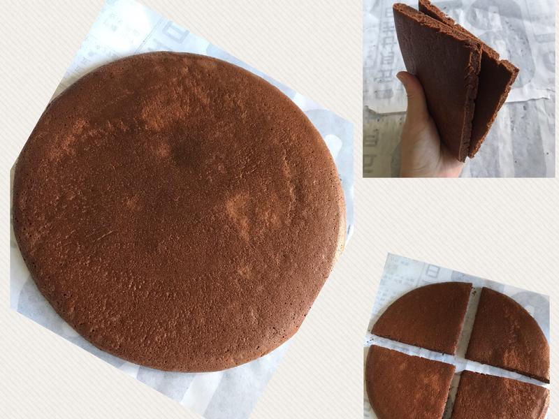巧克力大鬆餅蛋糕(平底鍋)