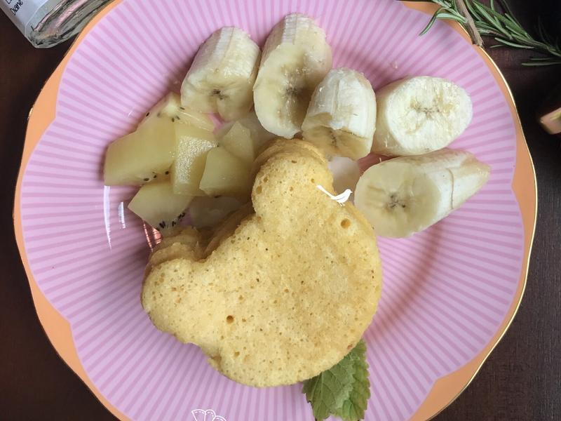 香蕉起司奶油鬆餅(排隊點心動手做)