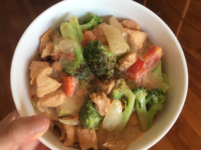 健康蛋白質滿滿無糖豆漿白醬(蓋飯、燉飯)