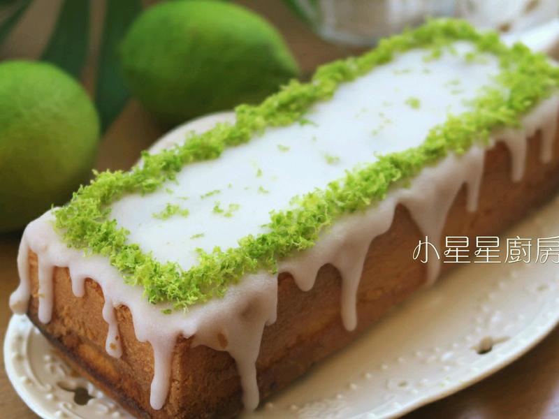 檸檬糖霜磅蛋糕(無泡打粉)