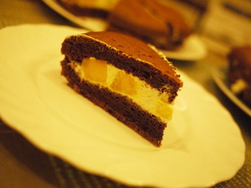 夏日清爽cake~『紅地瓜pine蛋糕&芒果巧克力pine蛋糕』