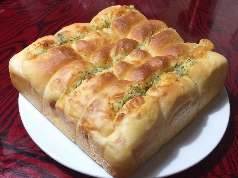 香蒜起司餐包(水合法)