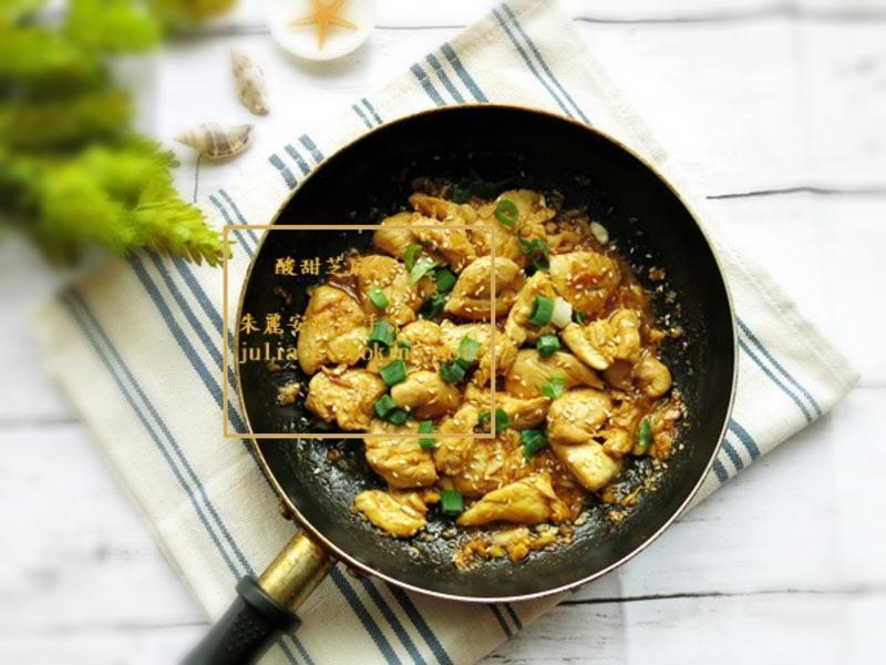[酸甜芝麻雞]一鍋到底 簡易料理
