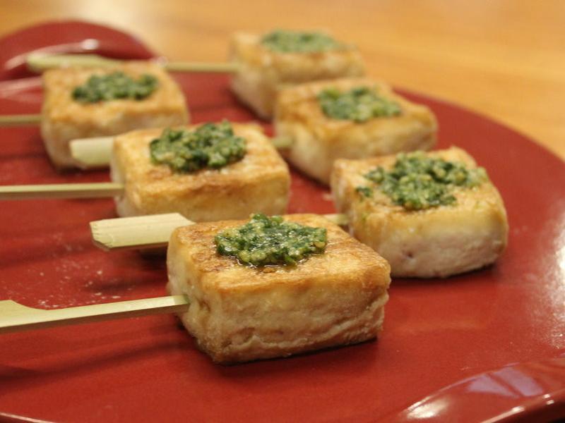 青醬烤豆腐