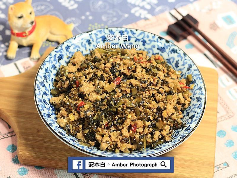 酸菜炒肉末(影音)