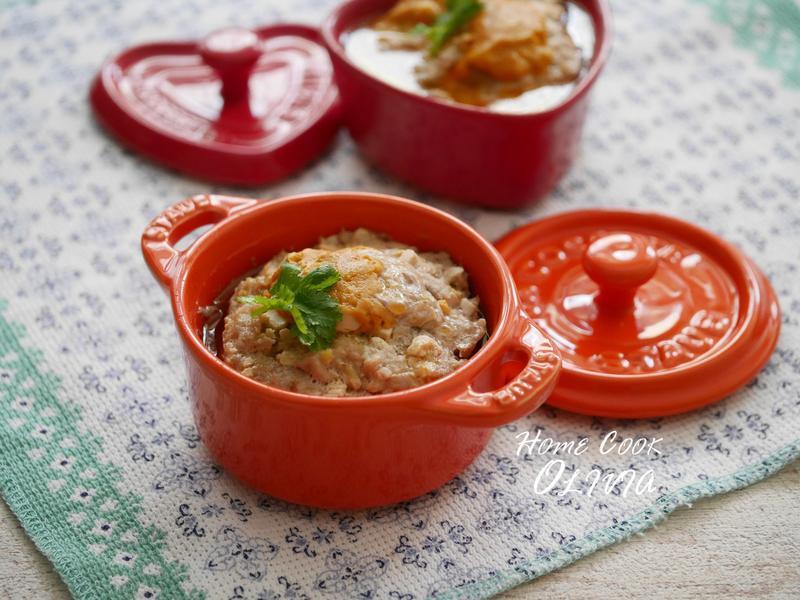小廚娘❤鹹蛋蒸肉#電鍋
