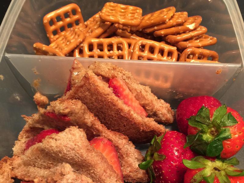 杏仁醬草莓吐司《營養早餐》