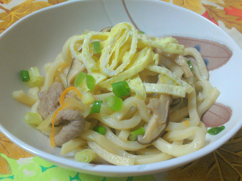 ㄚ曼達的廚房~日式炒烏龍