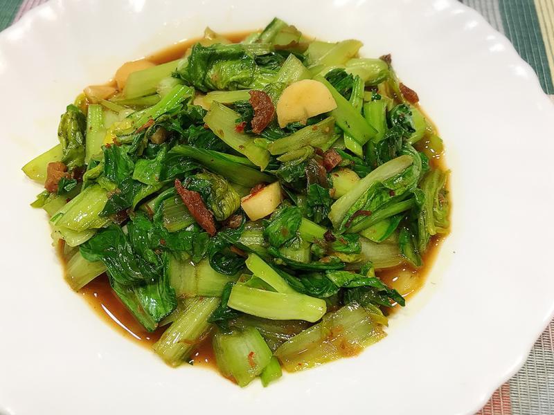 XO干貝醬炒青江菜
