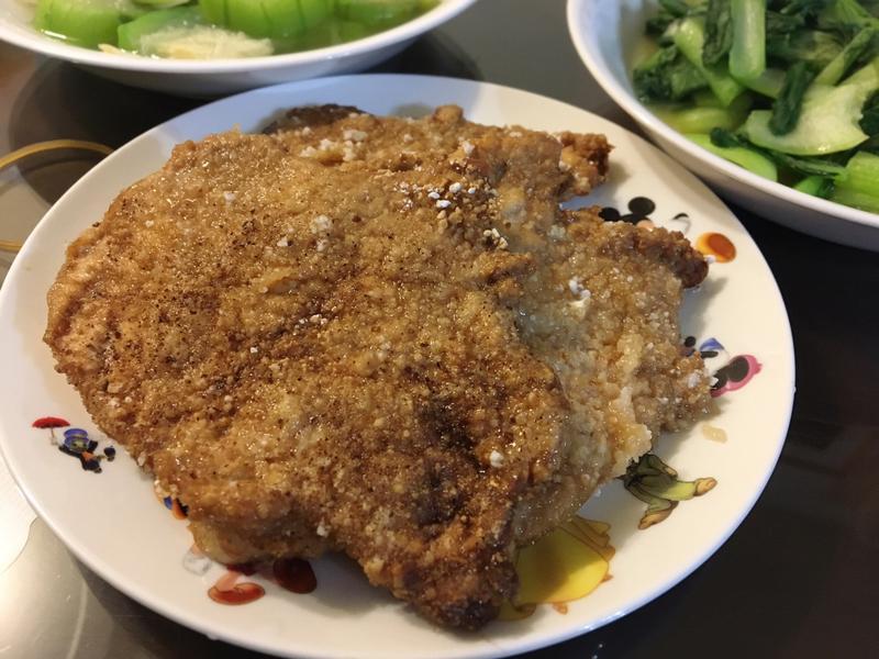椒鹽豬排(免油炸)