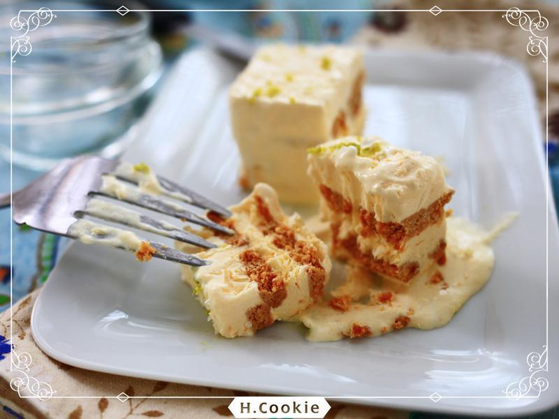 椰奶芒果冰盒糕(純素)