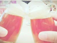 啤酒果凍~~~ 啊!是紅茶果凍啦!