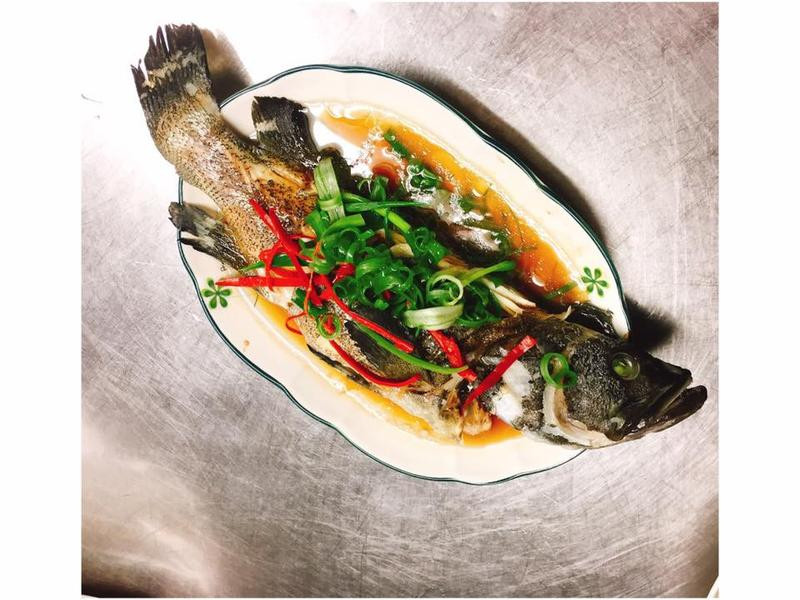 【隨興料理】清蒸石斑魚🐟