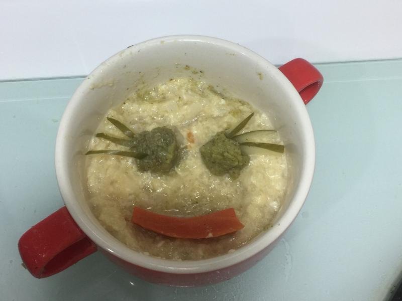 寶寶版鱈魚雞蛋粥(感冒)
