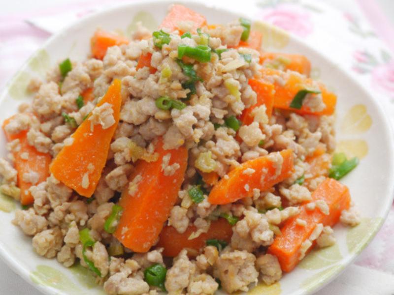味噌肉醬紅蘿蔔