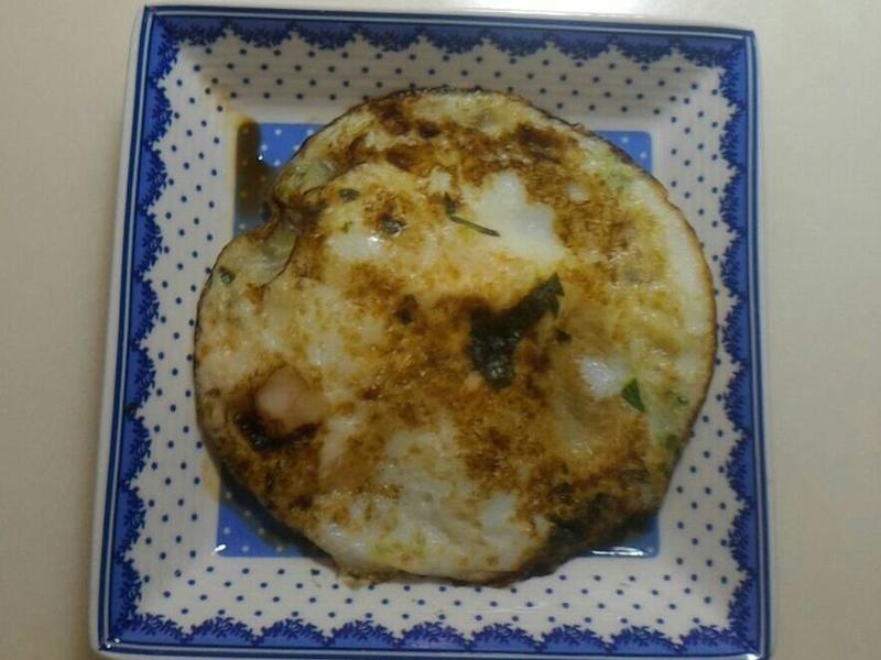 羅勒(九層塔)荷包蛋