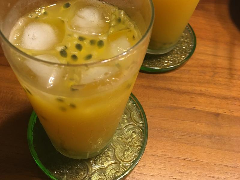 美白C柳橙百香果綠茶