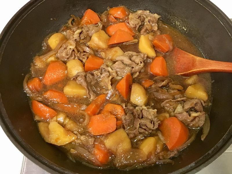 壽喜燒之馬鈴薯燉肉