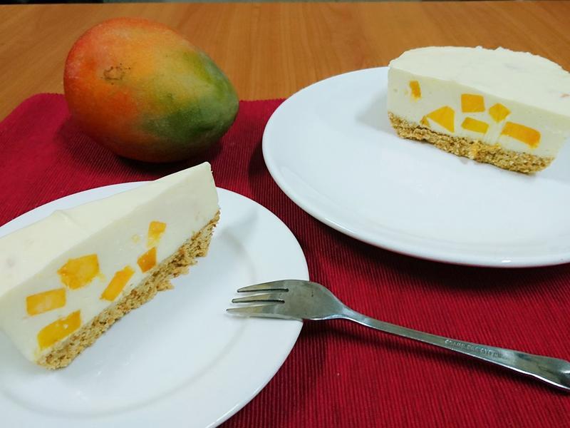 免烤芒果檸檬起司蛋糕(免鮮奶油)