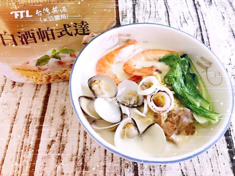 牛奶白醬海鮮鍋麵 [白酒帕式達]