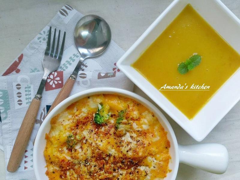 簡易版南瓜焗烤燉飯